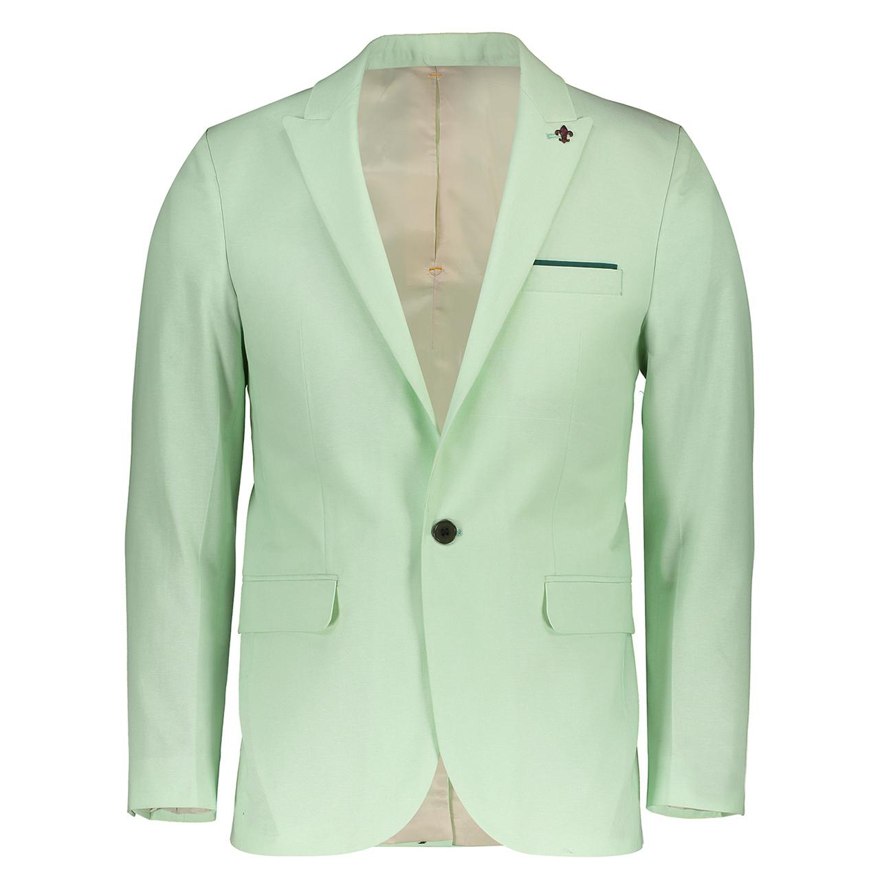کت تک مردانه جیوبرتی مدل Sport Green