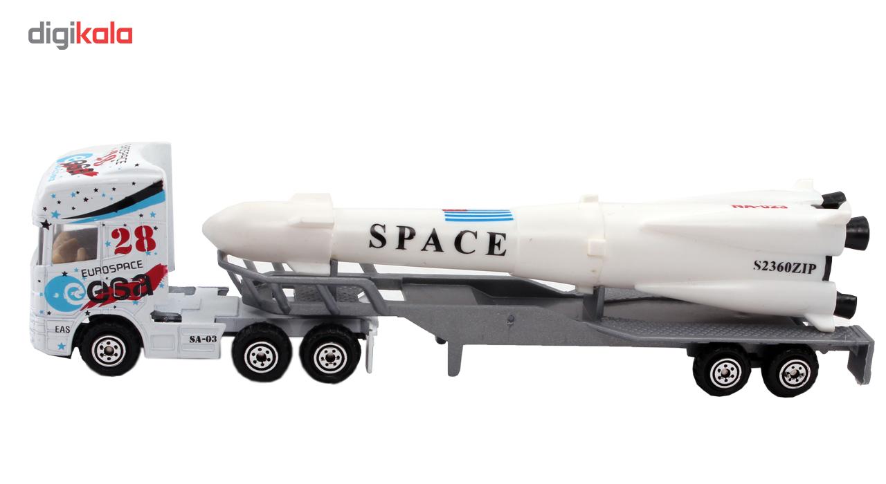 کامیون اسباب بازی مدل Triple Combo بسته 3 عددی