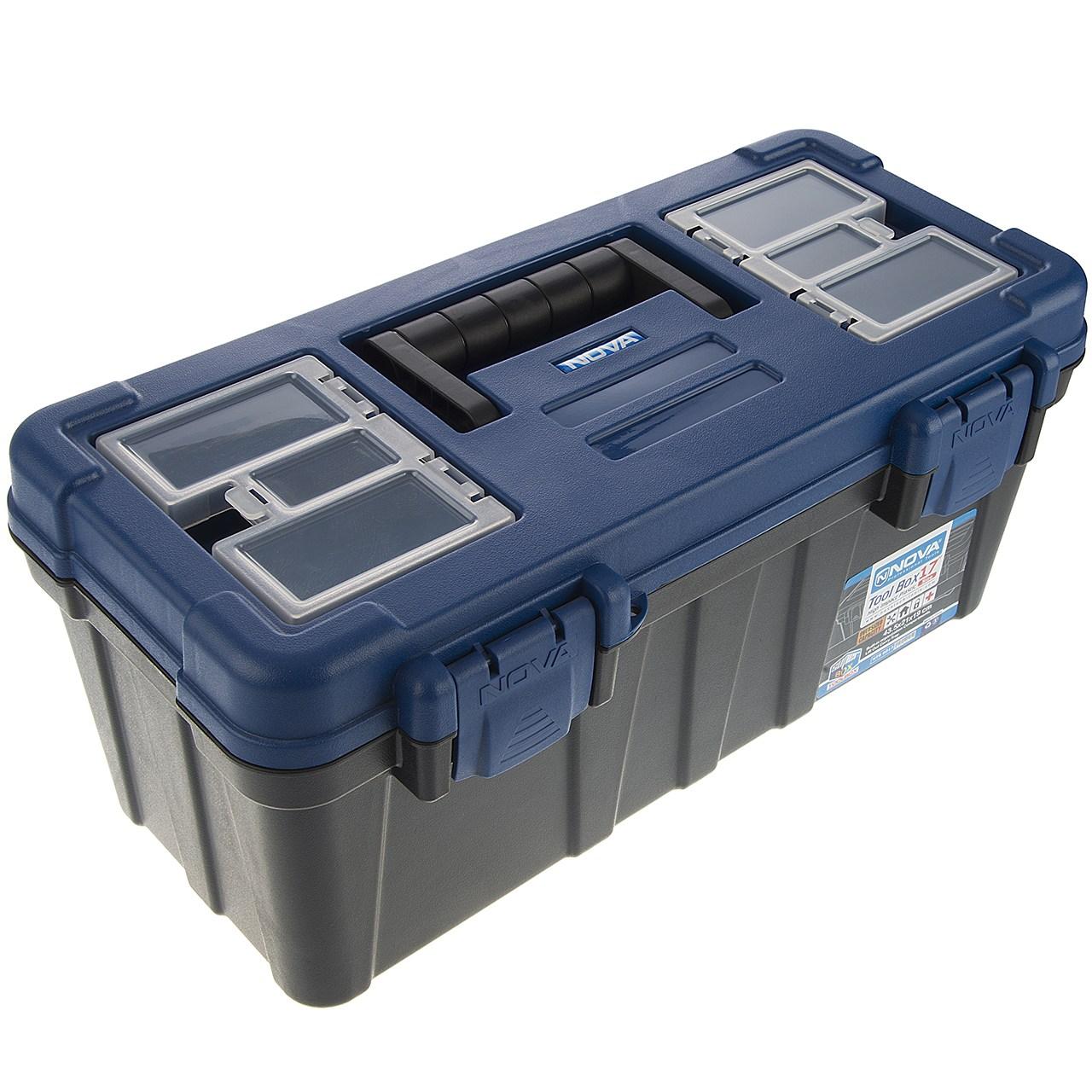 جعبه ابزار نووا مدل NTB-6017 سایز 17 اینچ
