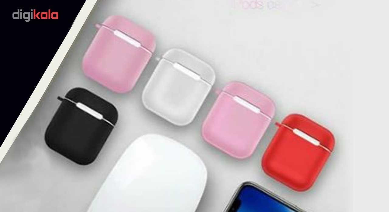 کاور محافظ سیلیکونی کوتتسی مدل Cs8113 مناسب برای کیس اپل AirPods main 1 4