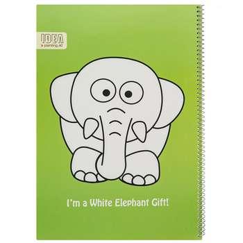 دفتر نقاشی 40 برگ فیلی ایده مدل Green