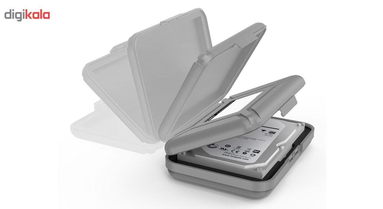 کیف هارد دیسک اینترنال اوریکو مدل PHX-35-5S بسته 5 عددی main 1 3