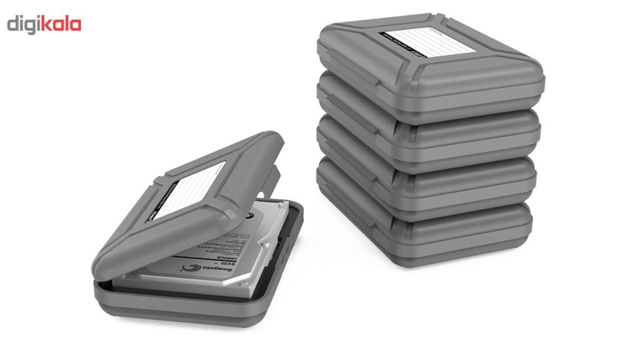 کیف هارد دیسک اینترنال اوریکو مدل PHX-35-5S بسته 5 عددی main 1 1
