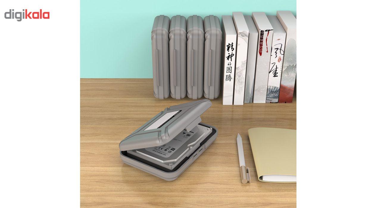 کیف هارد دیسک اینترنال اوریکو مدل PHX-35-5S بسته 5 عددی main 1 6