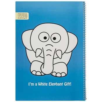 دفتر نقاشی 40 برگ فیلی ایده مدل Blue