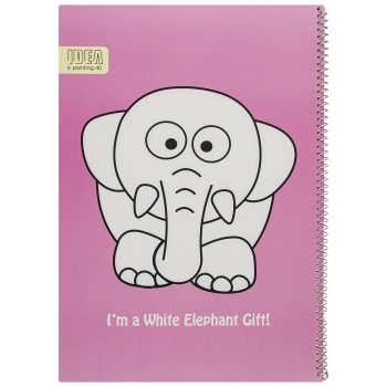 دفتر نقاشی 40 برگ فیلی ایده مدل Pink