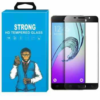 محافظ صفحه نمایش شیشه ای استرانگ مدل Fullcover مناسب برای گوشی سامسونگ گلکسی A7 2016 /A710