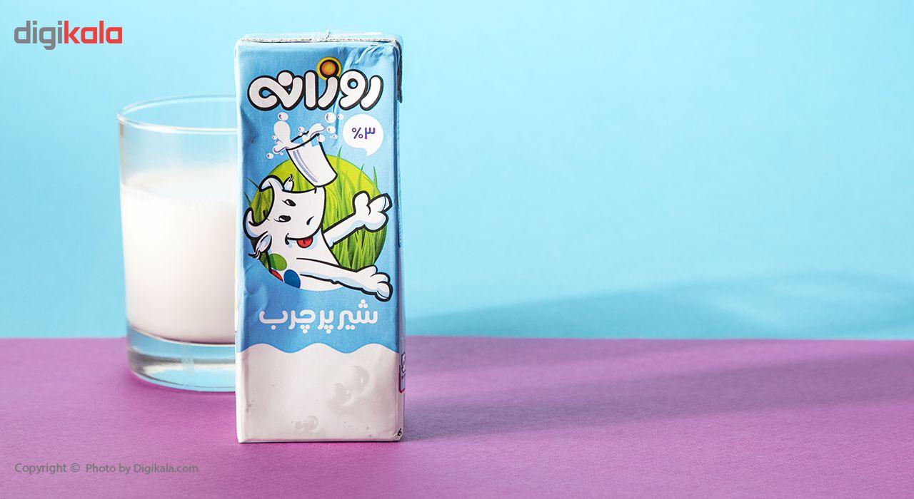 شیر پر چرب روزانه حجم 0.2 لیتر main 1 1