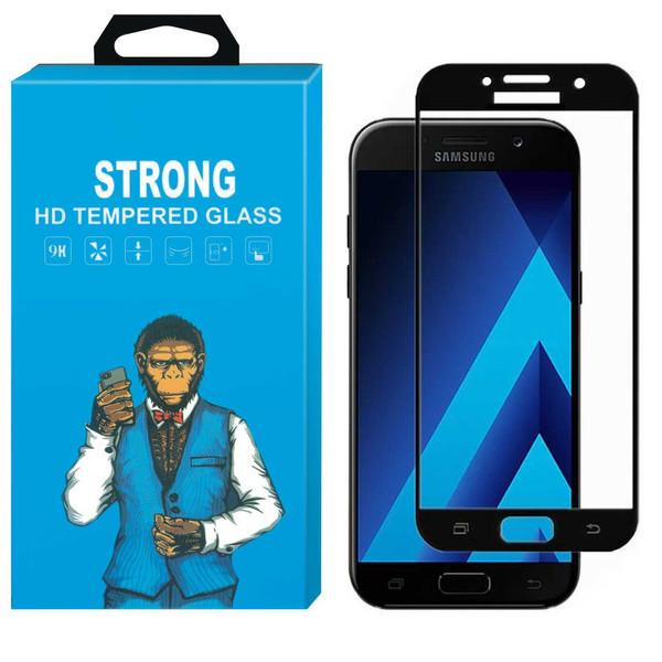 محافظ صفحه نمایش شیشه ای استرانگ مدل Fullcover مناسب برای گوشی سامسونگ گلکسی A5 2017 /A520