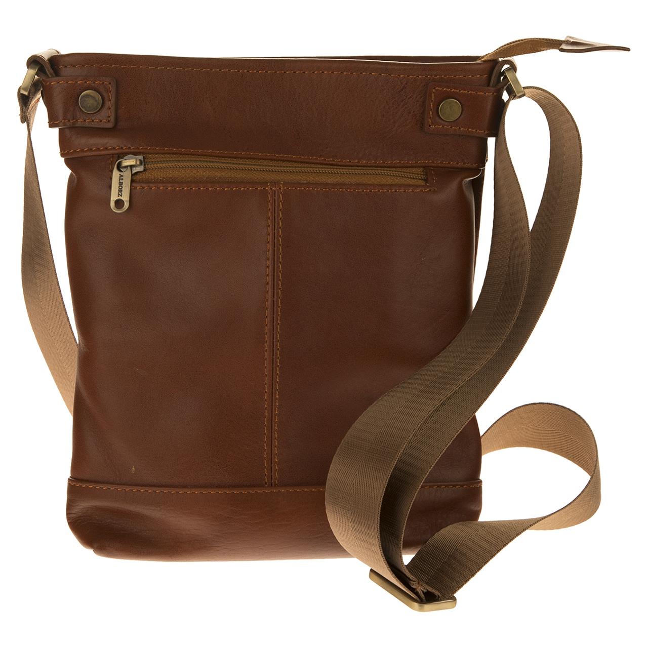 کیف دوشی چرم طبیعی مدل 2