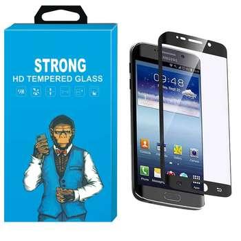 محافظ صفحه نمایش شیشه ای استرانگ مدل Fullcover مناسب برای گوشی سامسونگ گلکسی S6 Edge Plus