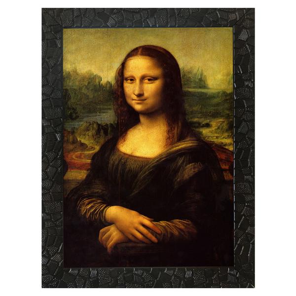 تابلو چاپ سی طرح مونالیزا L0141