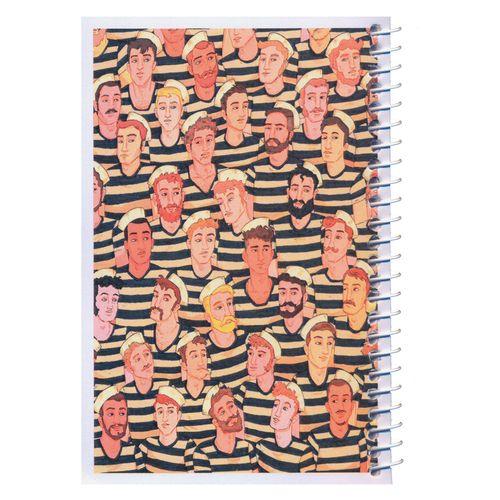 دفترچه یادداشت مدل کژوال طرح ملوان ها سایز متوسط