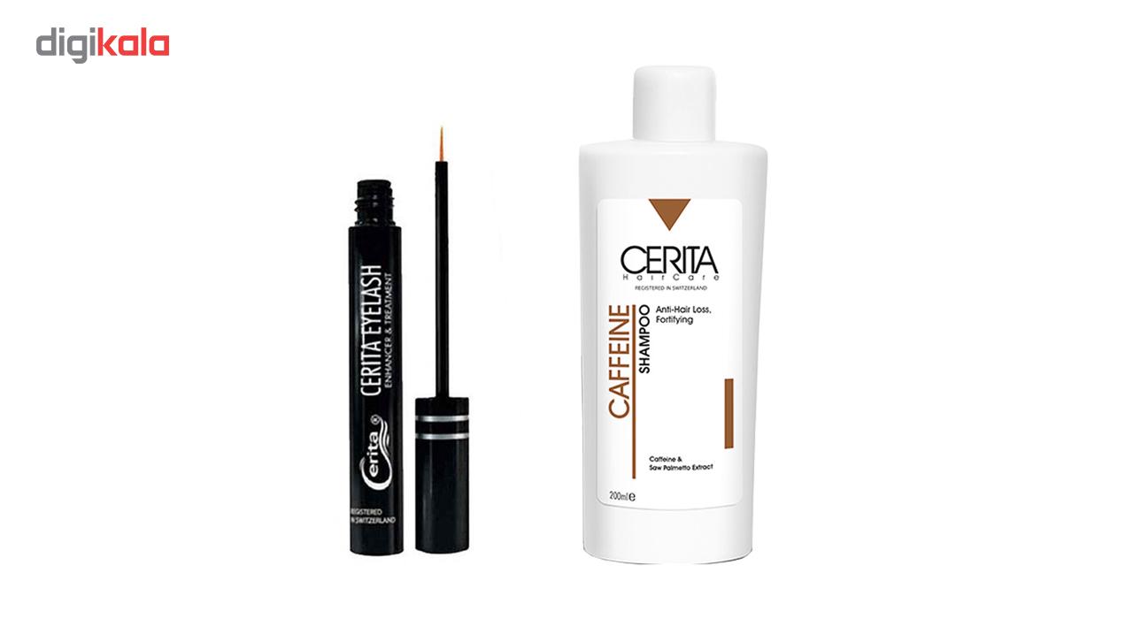 پک تقویت مو و مژه سریتا مدل Cerita 1