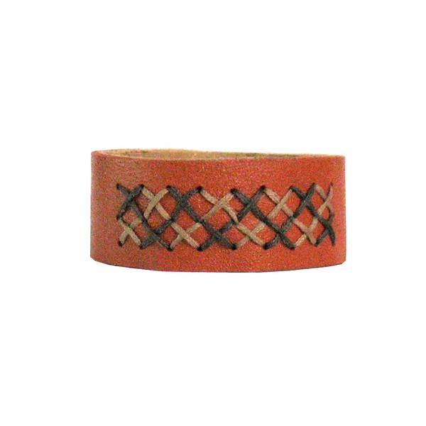 دستبند چرم طبیعی دانوب مدل فاخته کد:012