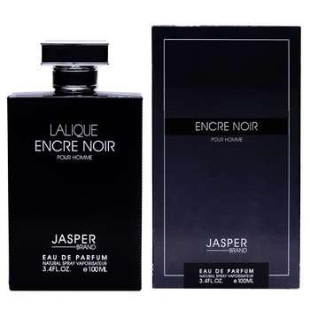 ادو پرفیوم مردانه جاسپر مدل LALIQUE encre noire حجم 100 میلی لیتر