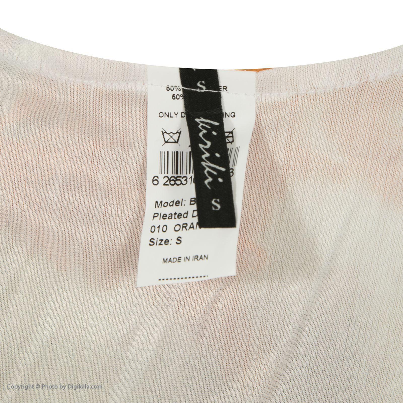 پیراهن زنانه کیکی رایکی مدل BB5316-010 -  - 7