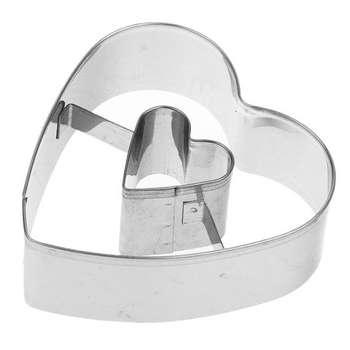 کاتر شیرینی پزی بهگز مدل heart dounat