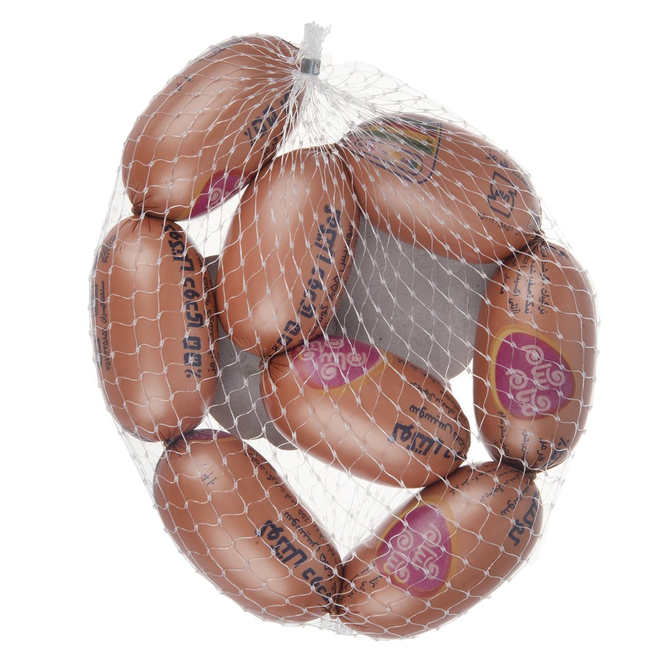 سوسیس کوکتل دودی 55% شام شام مقدار 500گرم