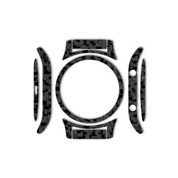 بسته 2 عددی برچسب ماهوت مدل Silicon Texture مناسب برای ساعت هوشمند Samsung Gear S3 Classic