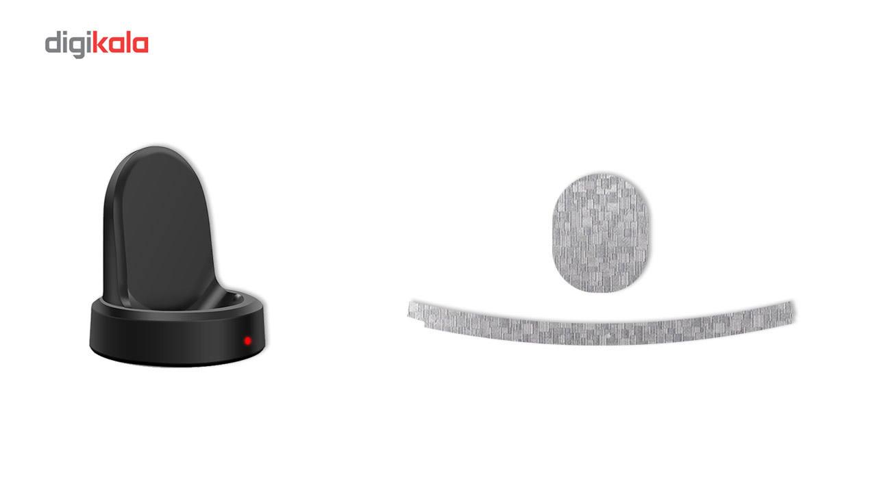برچسب ماهوت مدل Silicon Texture مناسب برای ساعت هوشمند Samsung Gear S3 Classic