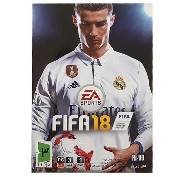 بازی FIFA 18 مخصوص PC