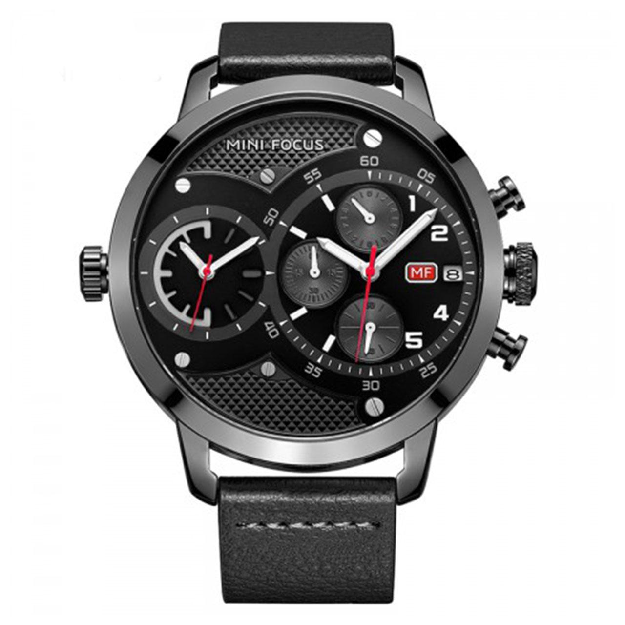 ساعت مچی عقربه ای مردانه مینی فوکوس مدل MF0019G
