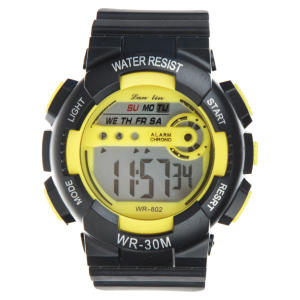 ساعت مچی دیجیتال لن لین مدل WR30M YL -گالری مارنا
