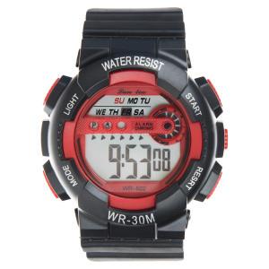 ساعت مچی دیجیتال لن لین مدل WR30M RD -گالری مارنا