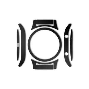 بسته 2 عددی برچسب ماهوت مدل Black-color-shades Special مناسب برای ساعت هوشمند Samsung Gear S3 Classic