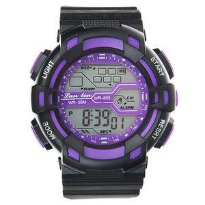 ساعت مچی دیجیتال لن لین مدل WR803 BL -گالری مارنا
