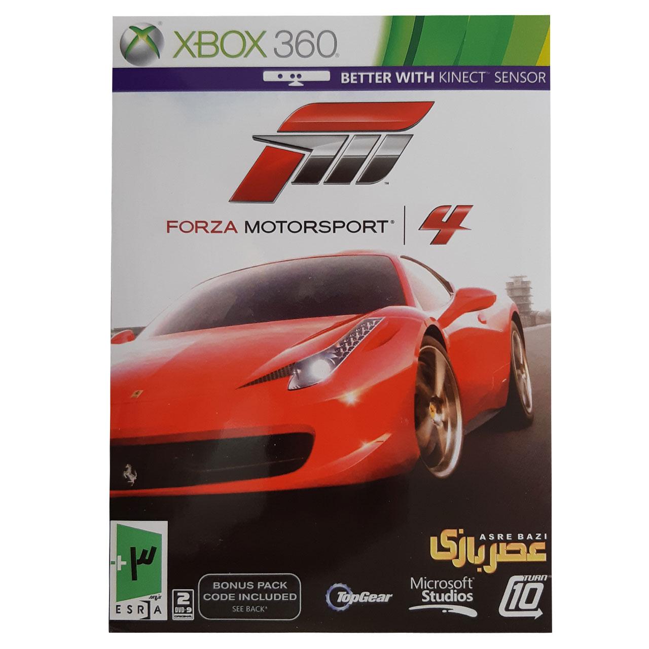 خرید اینترنتی بازی FORZA MOTORSPORT مخصوص Xbox 360 اورجینال