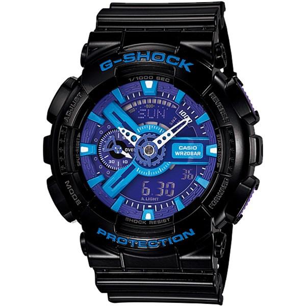 ساعت مچی عقربه ای مردانه کاسیو جی شاک GA-110HC-1ADR