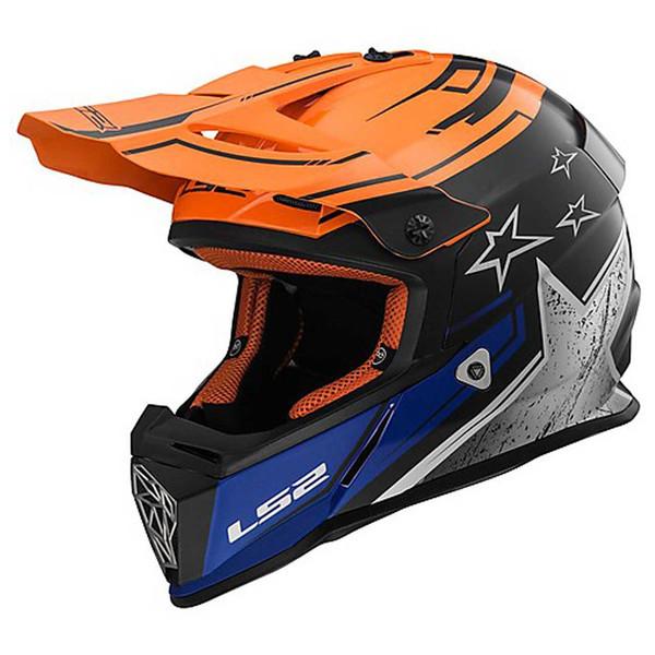 کلاه کاسکت ال اس تو مدل Fast V2 سایز L