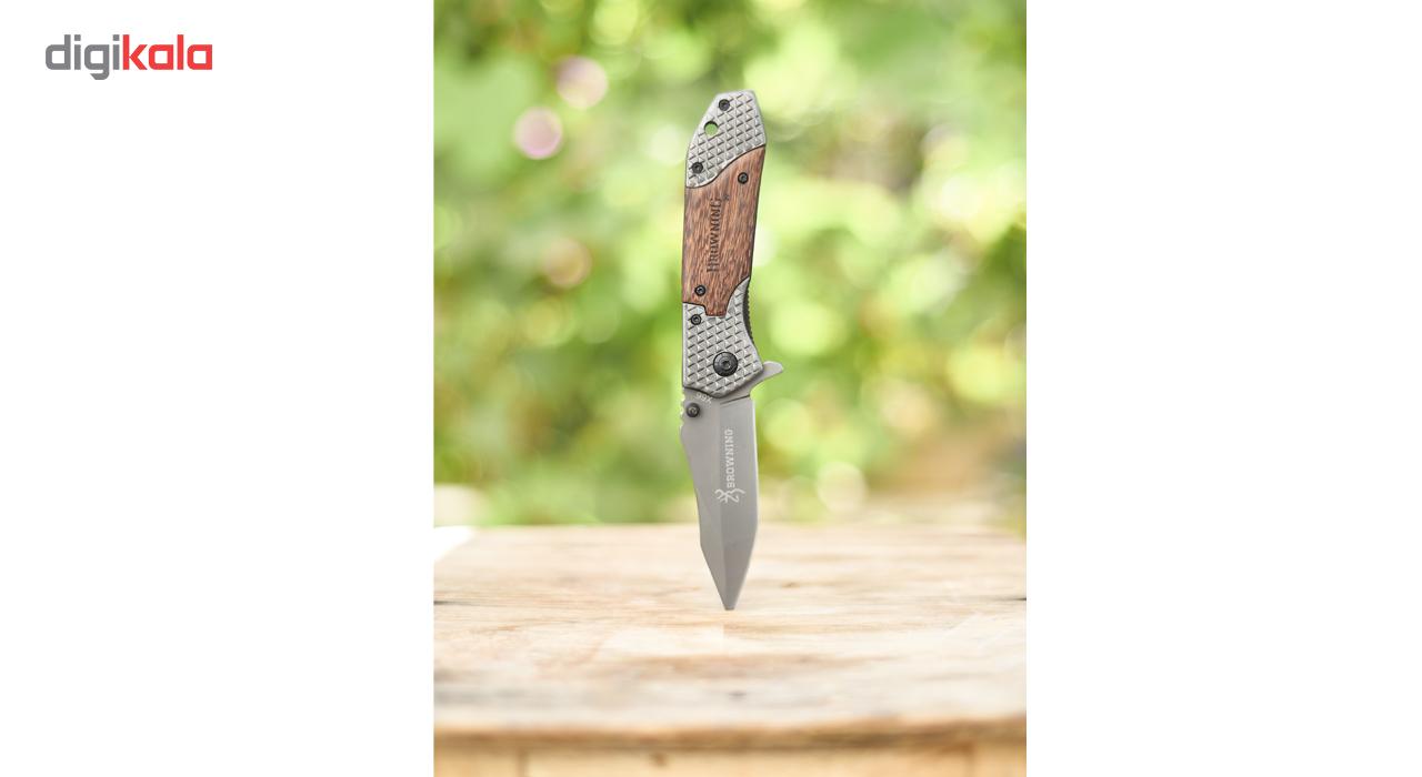 چاقو سفری تاشو برونینگ مدل X66