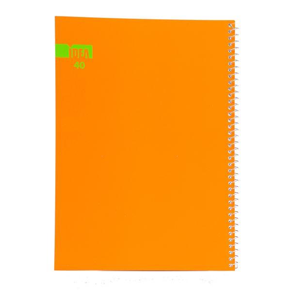 دفتر مشق سیمی ایده کد1 - 40 برگ
