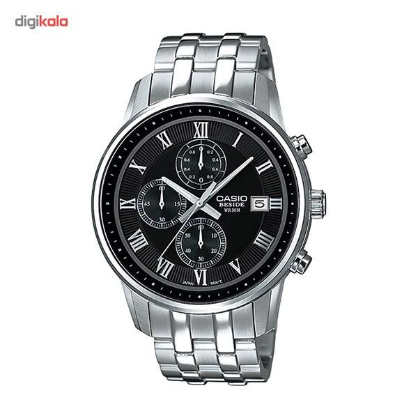 خرید ساعت مچی عقربه ای مردانه کاسیو BEM-511D-1AVDF