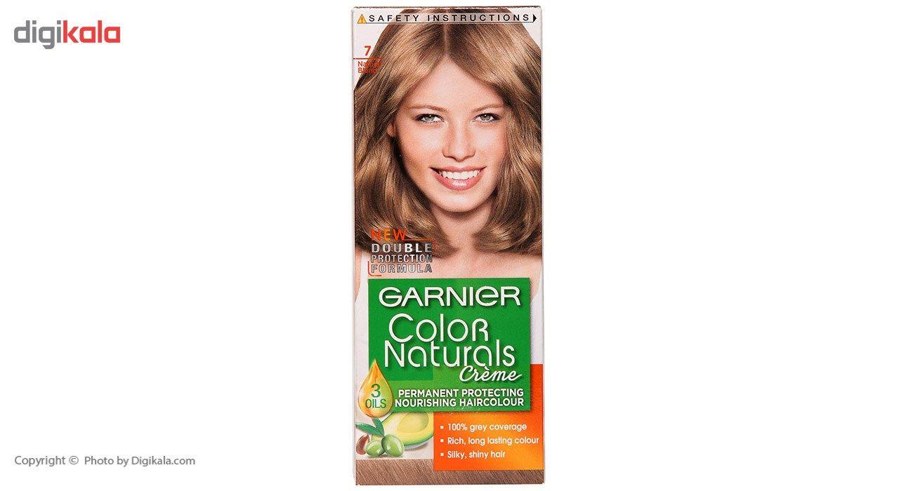 کیت رنگ مو گارنیه شماره Color Naturals Shade 7  Garnier Color Naturals Shade 7 Hair Color