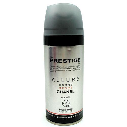 اسپری خوشبو کننده بدن مردانه پرستیژ مدل Chanel Allure Homme Sport حجم 150 میلی لیتر