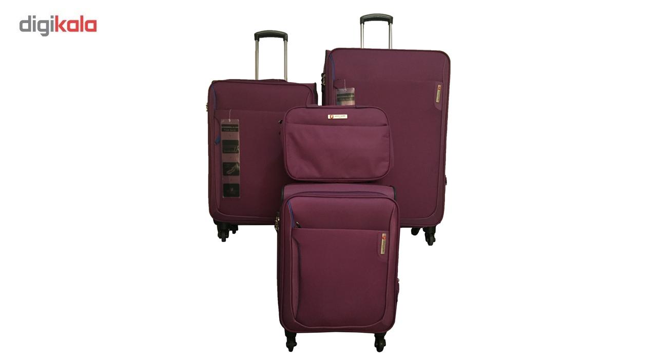 مجموعه چهار عددی چمدان پیرکاردین مدل PC001