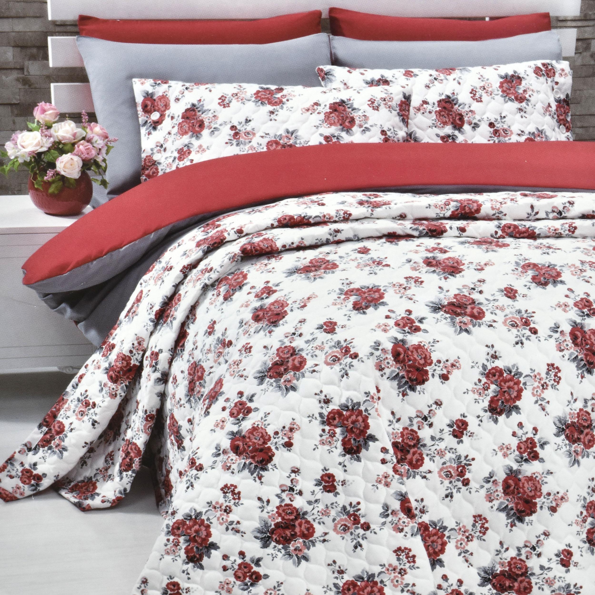 سرویس خواب کوپن سری پاناماست طرح Kırmızı دو نفره 7 تکه