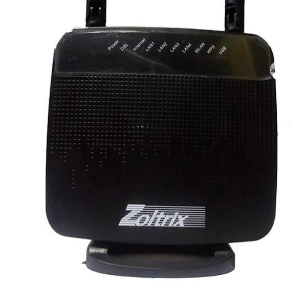 مودم روتر ADSL زولتریکس مدل ZW888n
