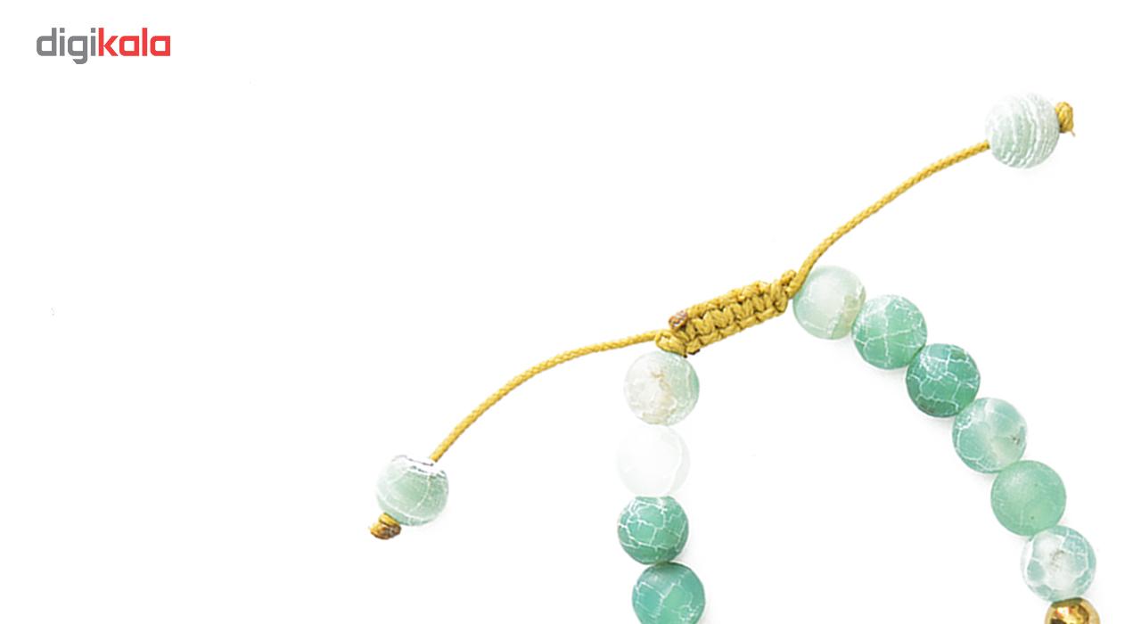 دستبند نوژین مدل ماه تولد شهریور سنبله G035
