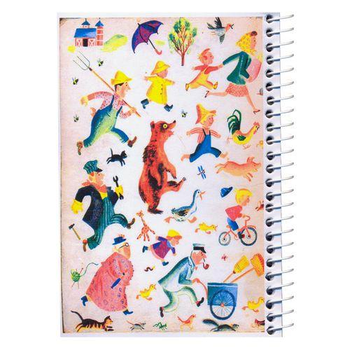 دفترچه یادداشت مدل کژوال طرح خبر بزرگ سایز متوسط