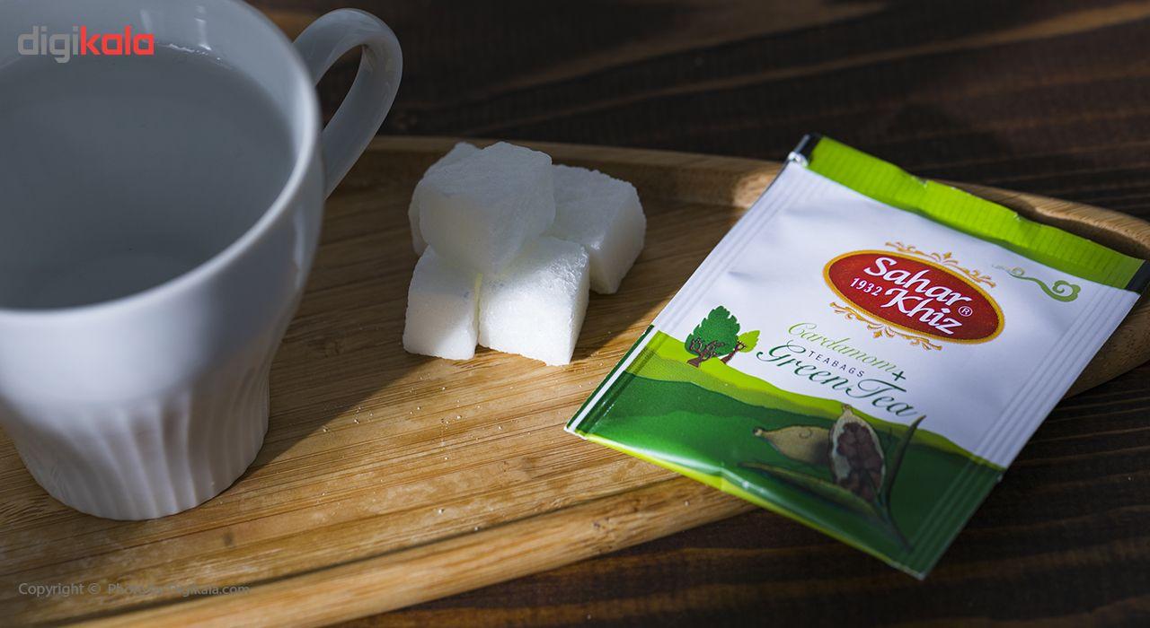 چای سبز کیسهای هل سحرخیز بسته 20 عددی main 1 7