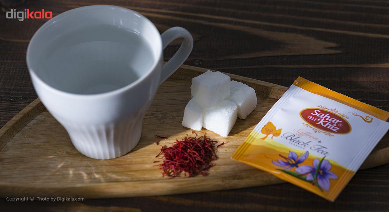 چای سیاه کیسهای زعفرانی سحرخیز بسته 20 عددی main 1 7