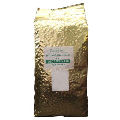 دانه قهوه پالومبینی مدل DECAFFEINATO مقدار 1000 گرمی