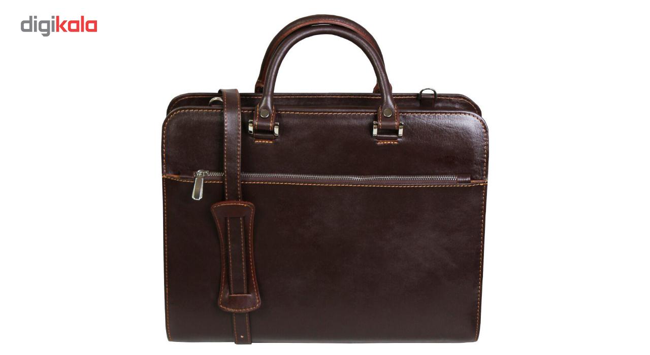کیف اداری مردانه چرم ناب مدل E-135