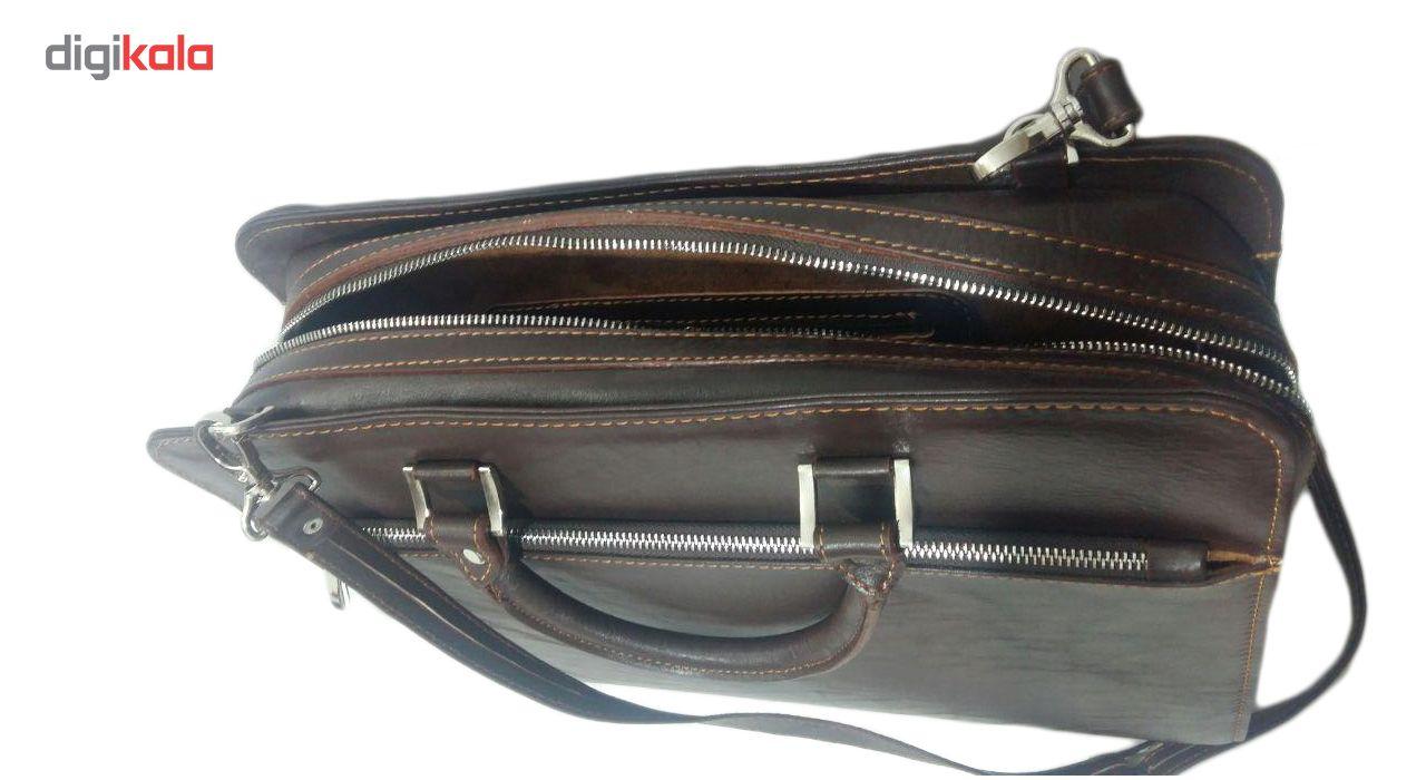 کیف اداری مردانه چرم ناب مدل E-135 main 1 3
