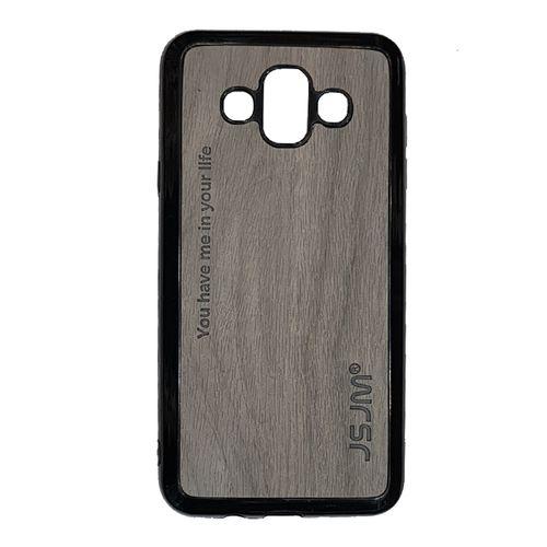 کاور جی اس جی ام مدل Wood Design مناسب برای گوشی موبایل سامسونگ گلکسی J7 DUO